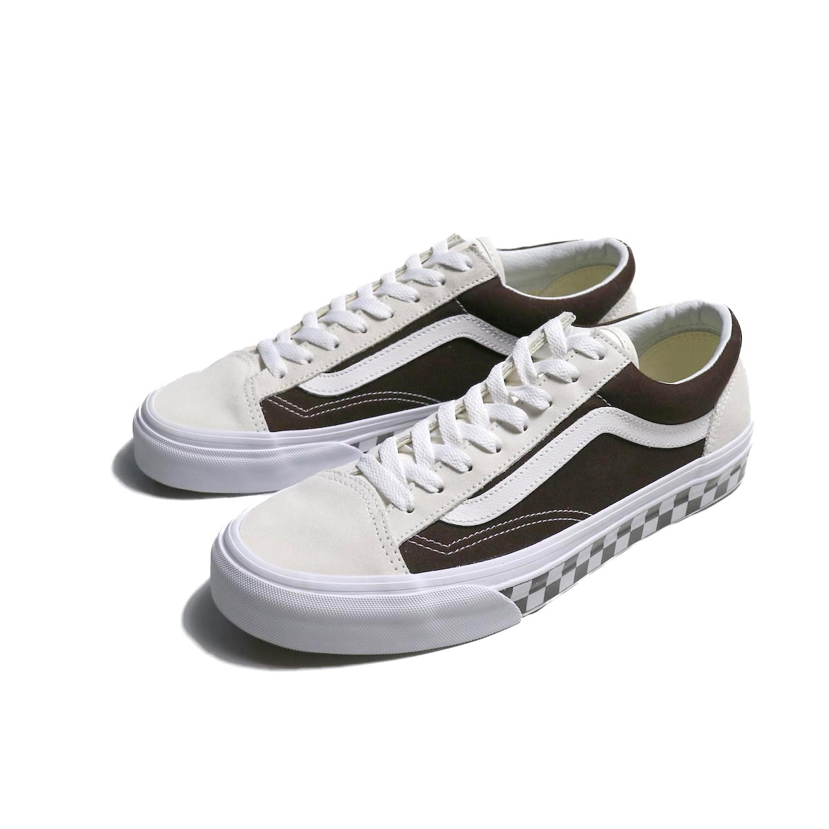 VANS / OLD SKOOL BMX CHECKERBOARD -WHITE / DEMITASSE