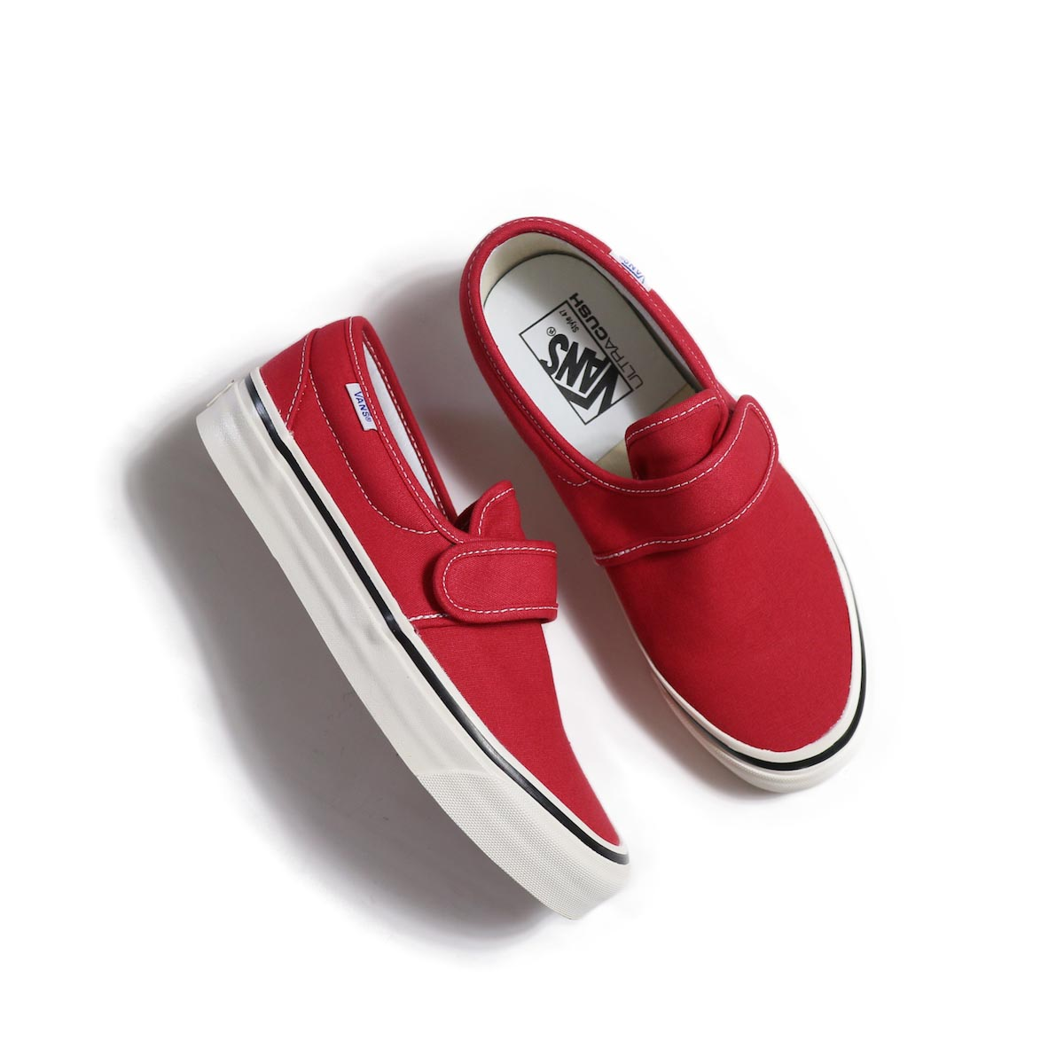 VANS / Slip-On 47 V DX (Anaheim Factory) -Red