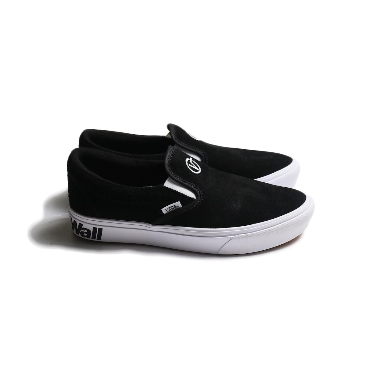 VANS / COMFYCUSH SLIP-ON (DISTORT) -Black/True White