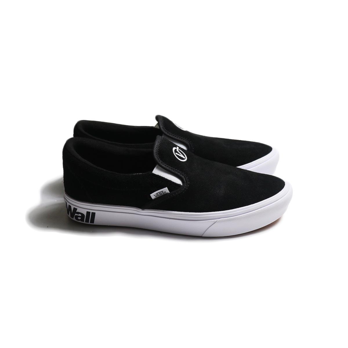VANS / COMFYCUSH SLIP-ON (DISTORT) -Black/True White