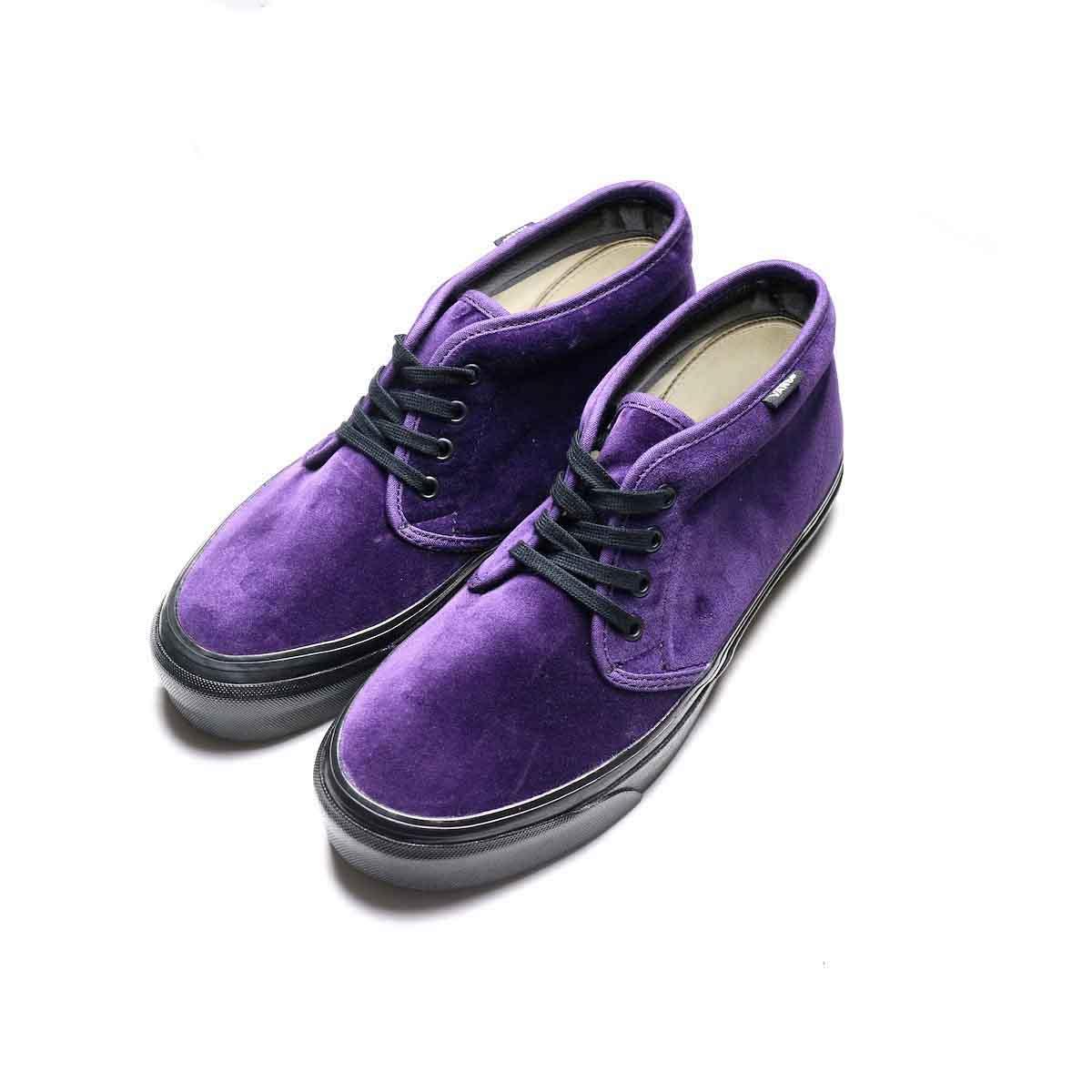 VANS / CHUKKA 49 DX (ANAHEIM FACTORY) (Purple VELVET)TOP