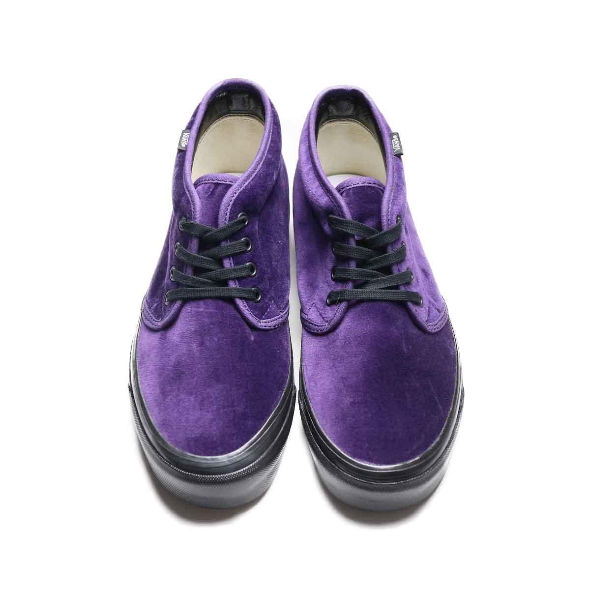 VANS / CHUKKA 49 DX (ANAHEIM FACTORY) (Purple VELVET)正面