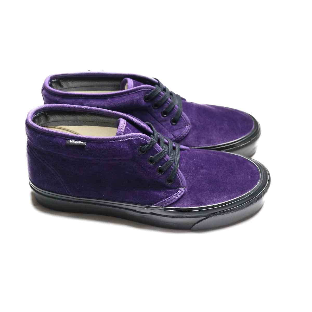 VANS / CHUKKA 49 DX (ANAHEIM FACTORY) (Purple VELVET)サイド