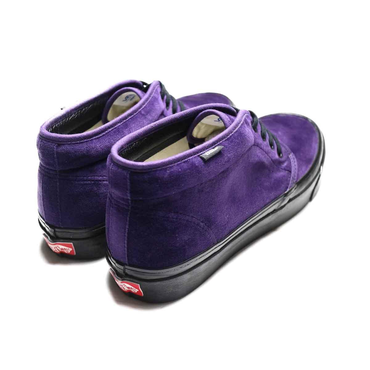 VANS / CHUKKA 49 DX (ANAHEIM FACTORY) (Purple VELVET)背面