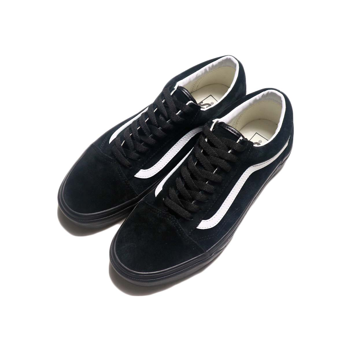 VANS / OLD SKOOL (Piq Suede) (Black) 全体像
