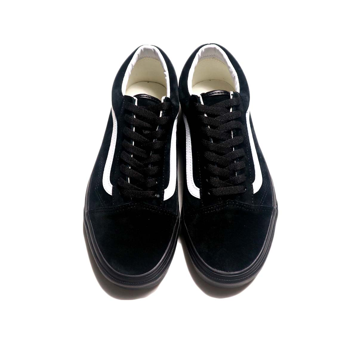 VANS / OLD SKOOL (Piq Suede) (Black) 正面