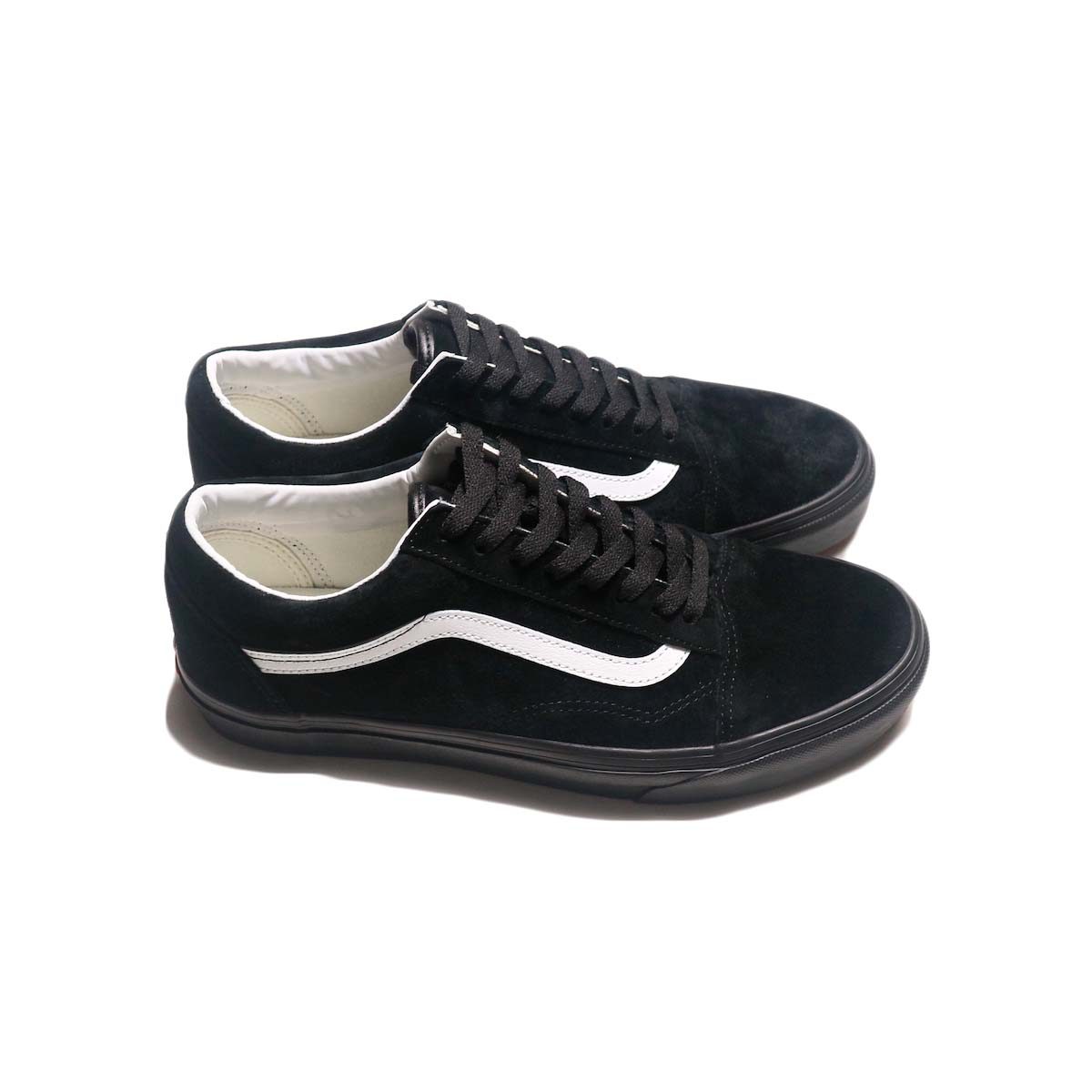 VANS / OLD SKOOL (Piq Suede) (Black) 側面