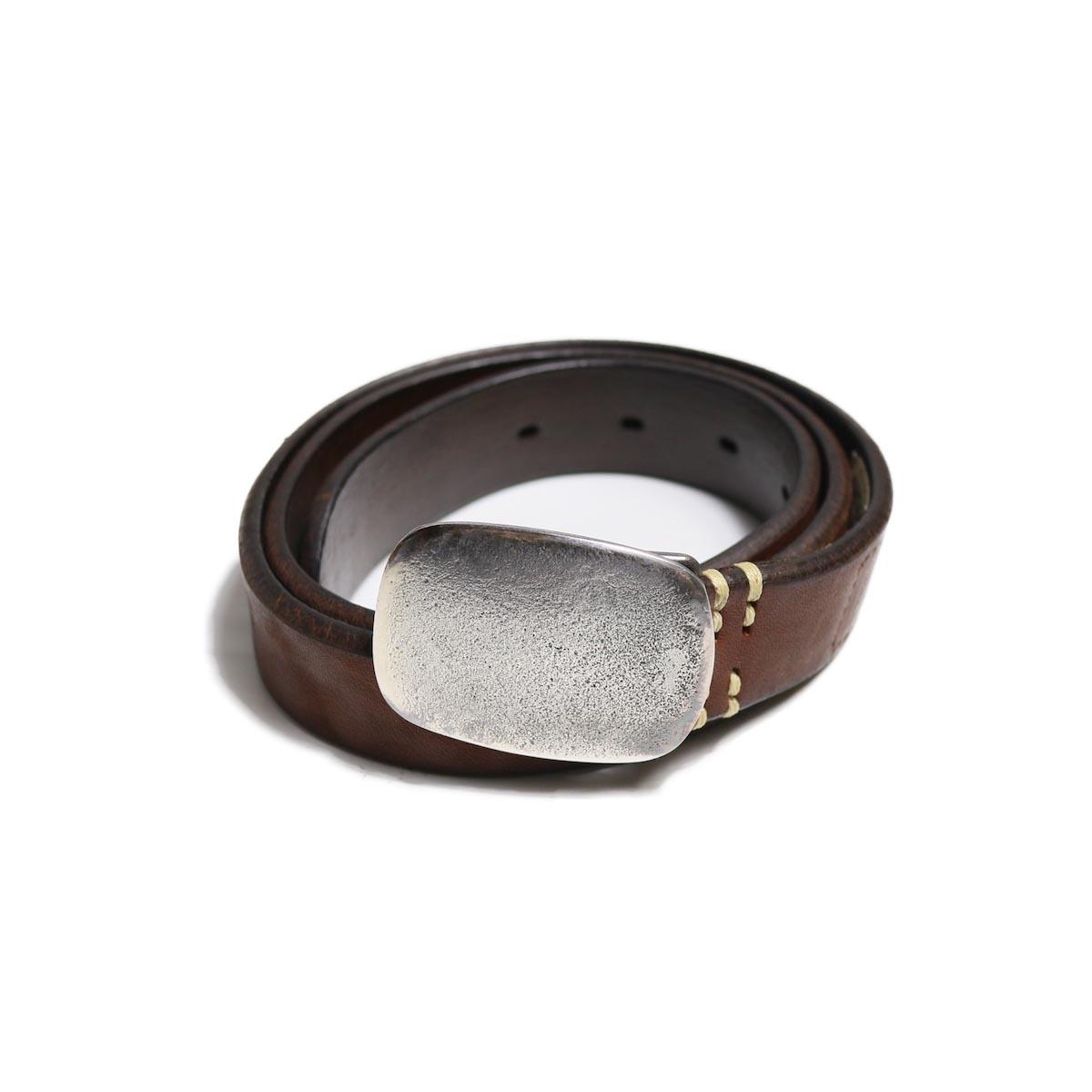 Vintage Works / DH5717 Leather Belt -BRONZE