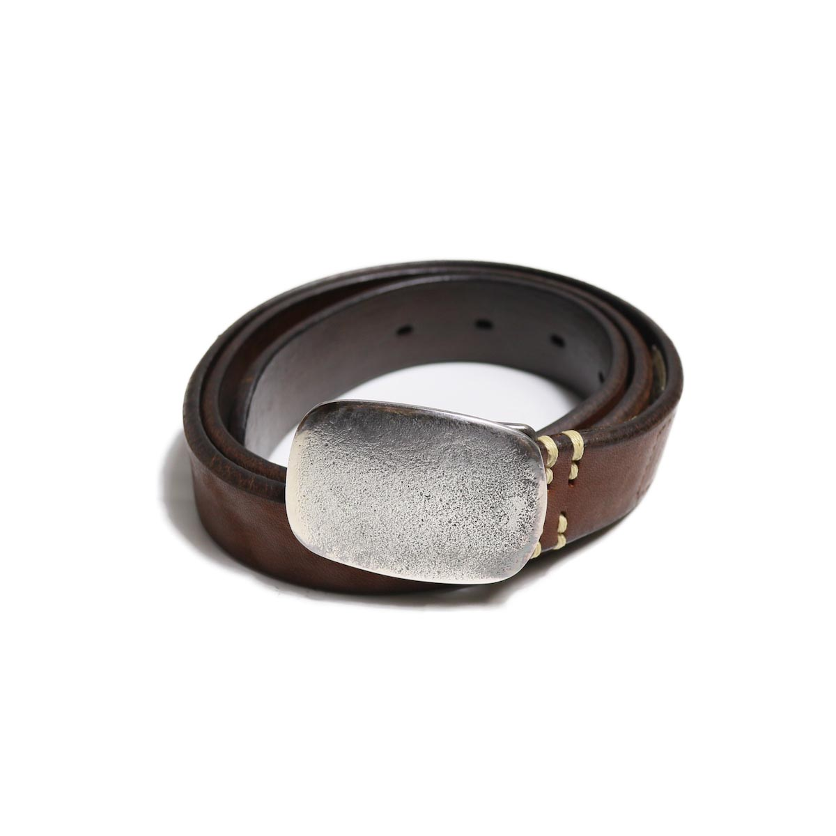 Vintage Works / DH5717 Leather Belt -BRONZE