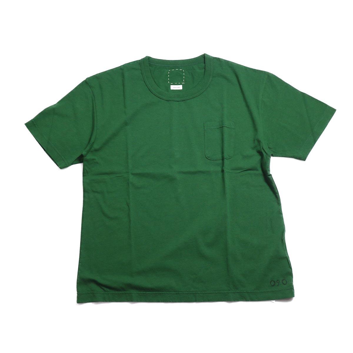 visvim / JUMBO TEE S/S (HAND NUMBERING) -Green