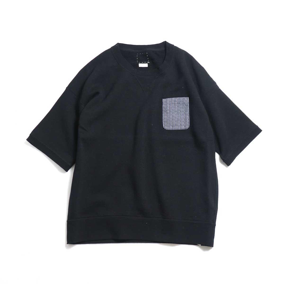 visvim / JUMBO PCKT S/S -Black