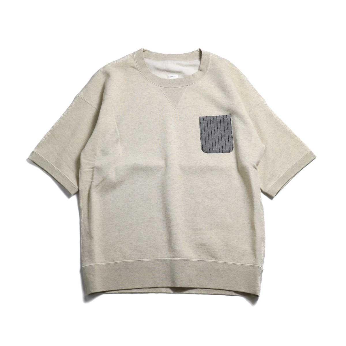 visvim / JUMBO PCKT S/S -Grey