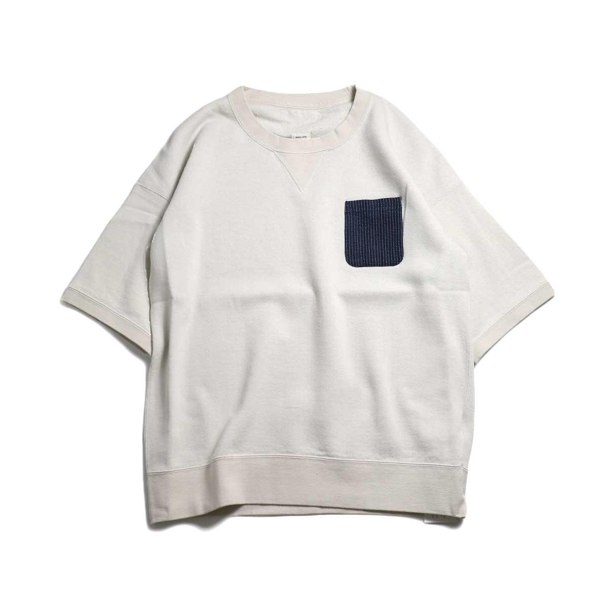 visvim / JUMBO PCKT S/S -Off White