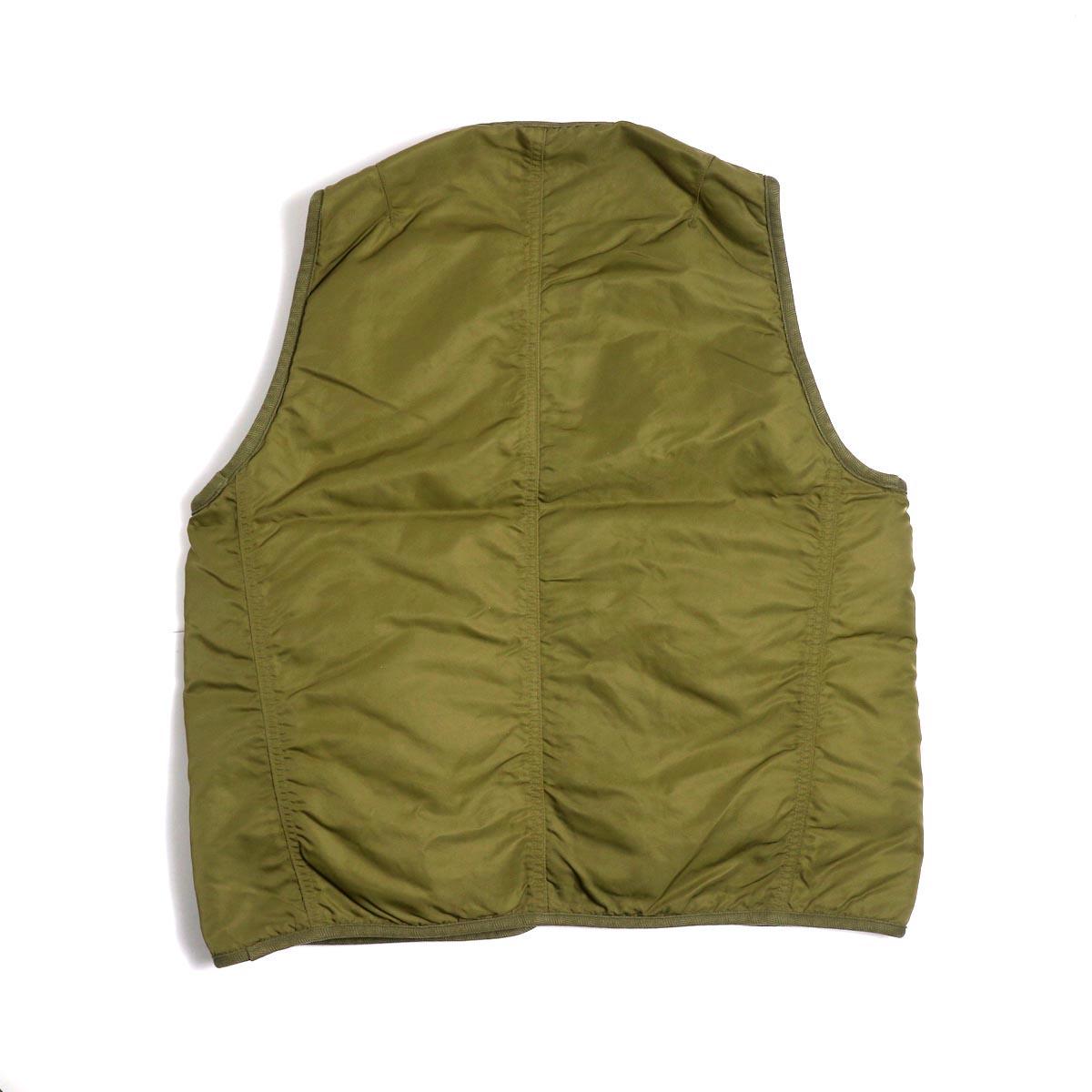 visvim / IRIS LINER VEST -Khaki 背面