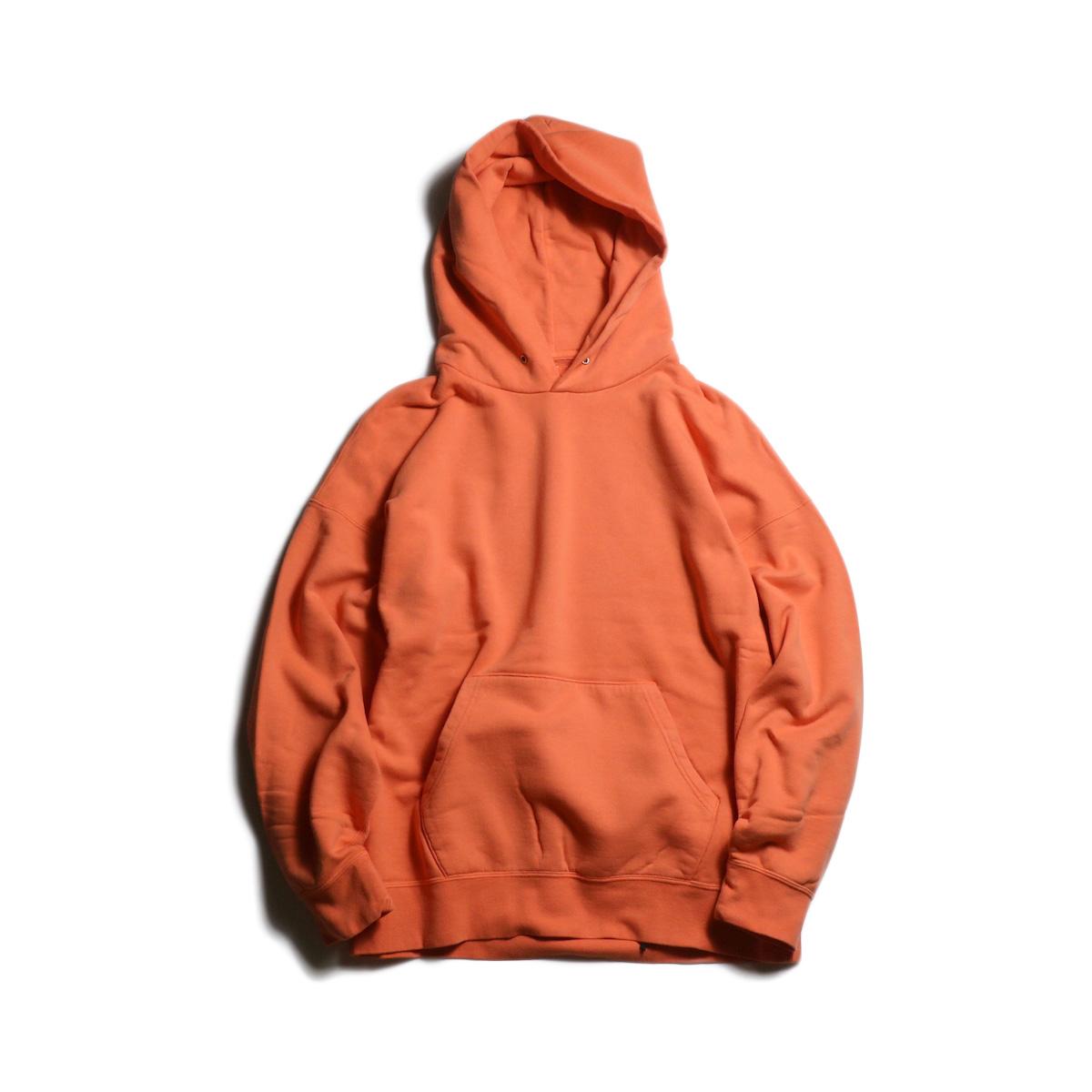 visvim / JUMBO HOODIE P.O. (VEGGIE DYE)(Orange)