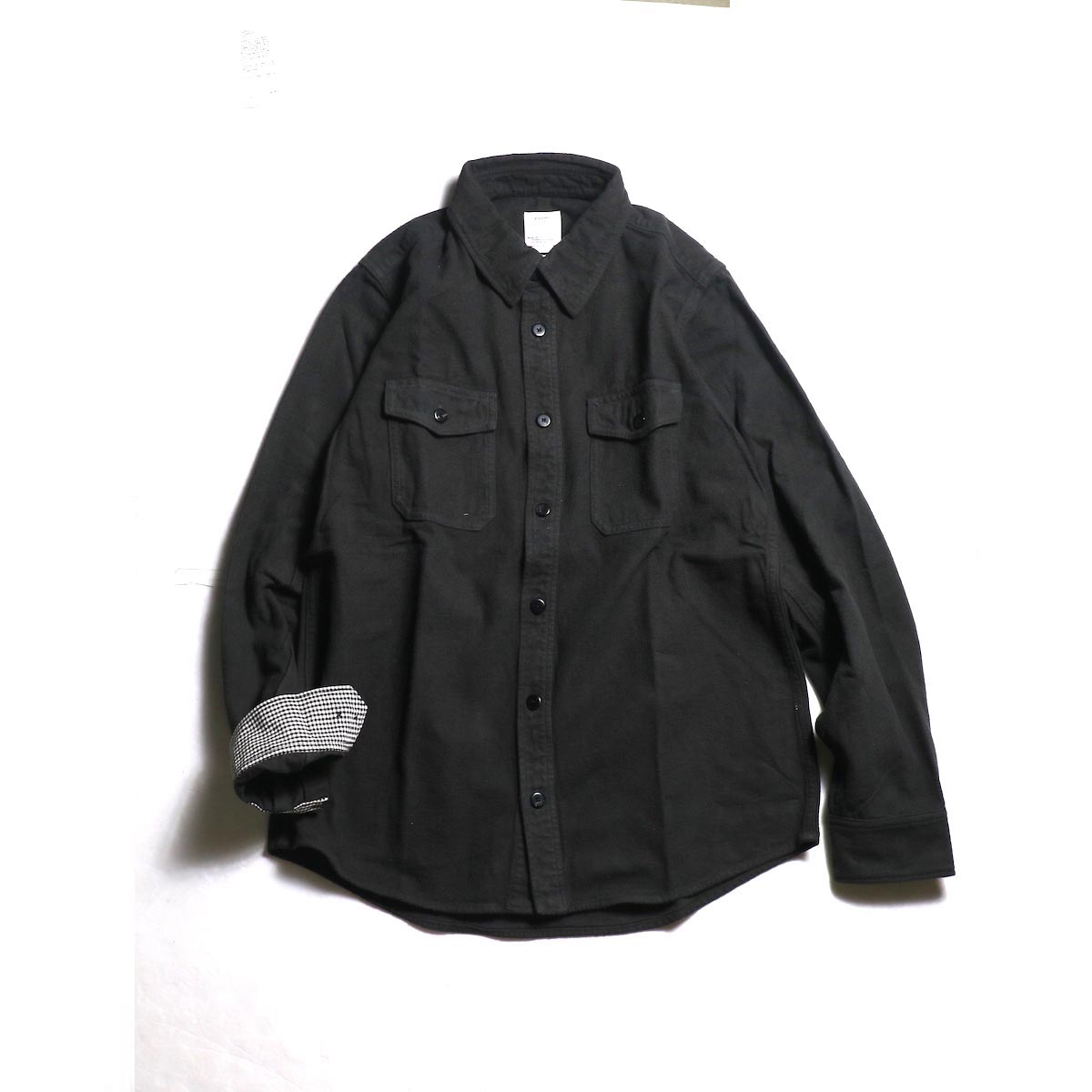 visvim / BLACK ELK FLANNEL (Black)