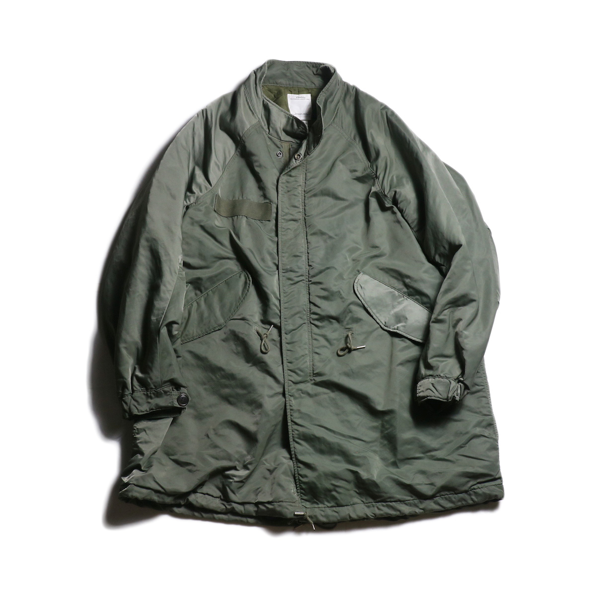 visvim / SIX-FIVE FISHTAIL PARKA (Olive)