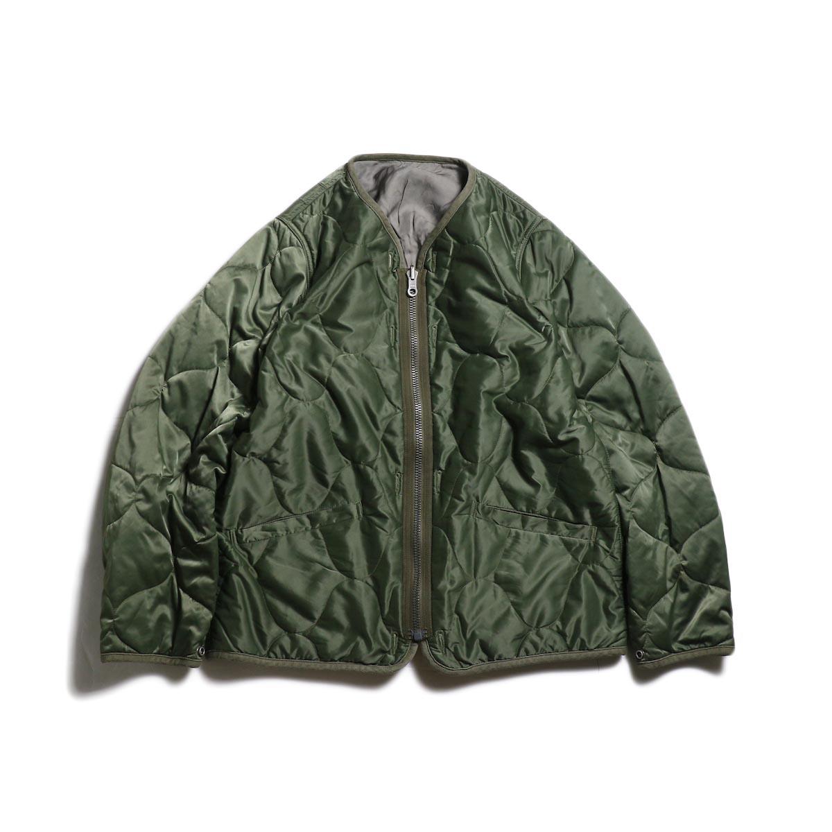 visvim / IRIS LINER JKT -Green