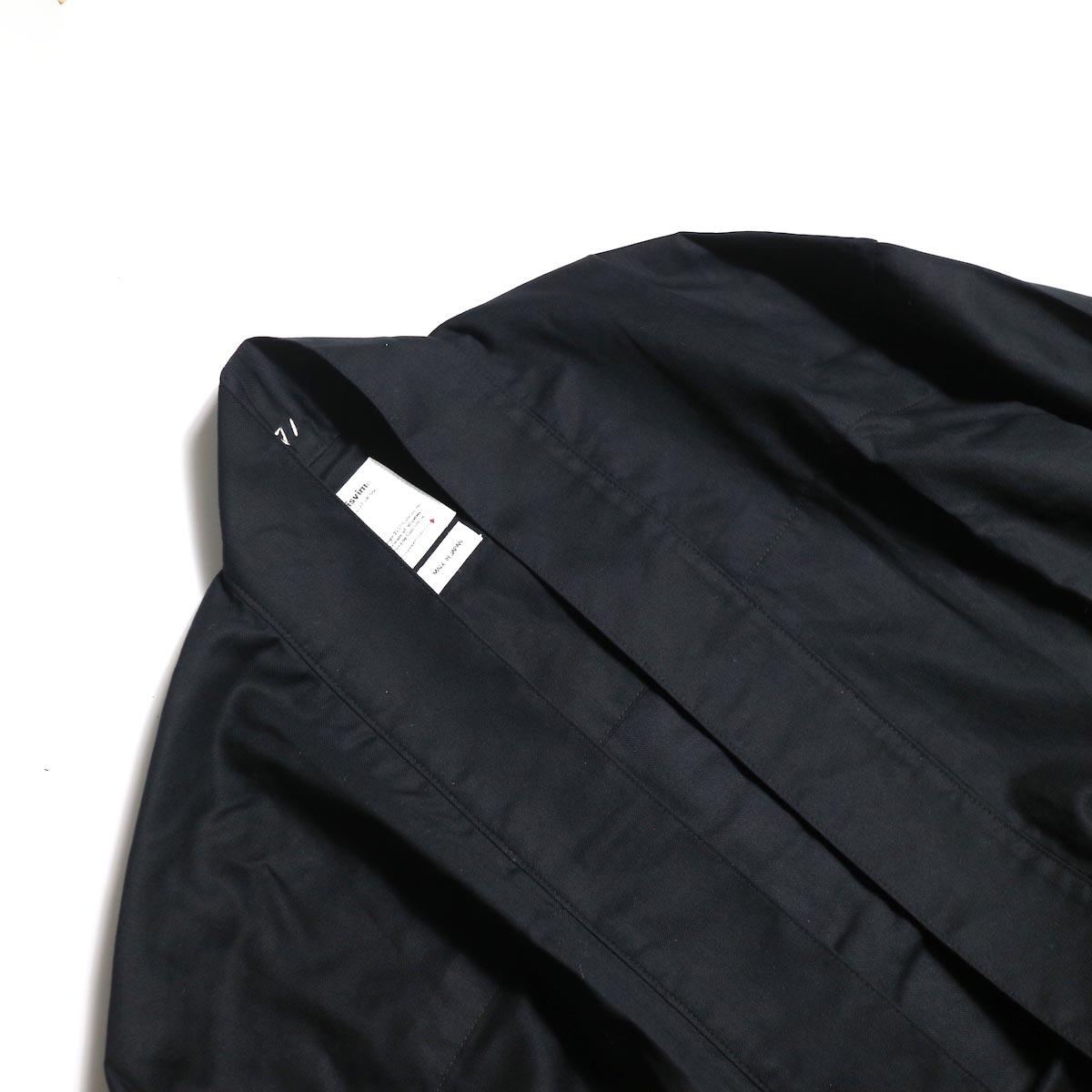 visvim / LHAMO SHIRT (BLACK)衿