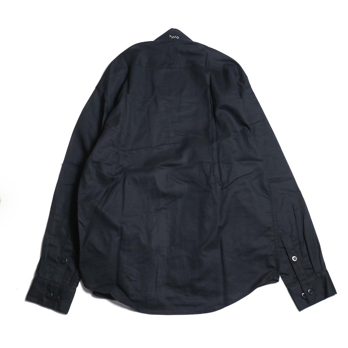 visvim / LHAMO SHIRT (BLACK) 背面