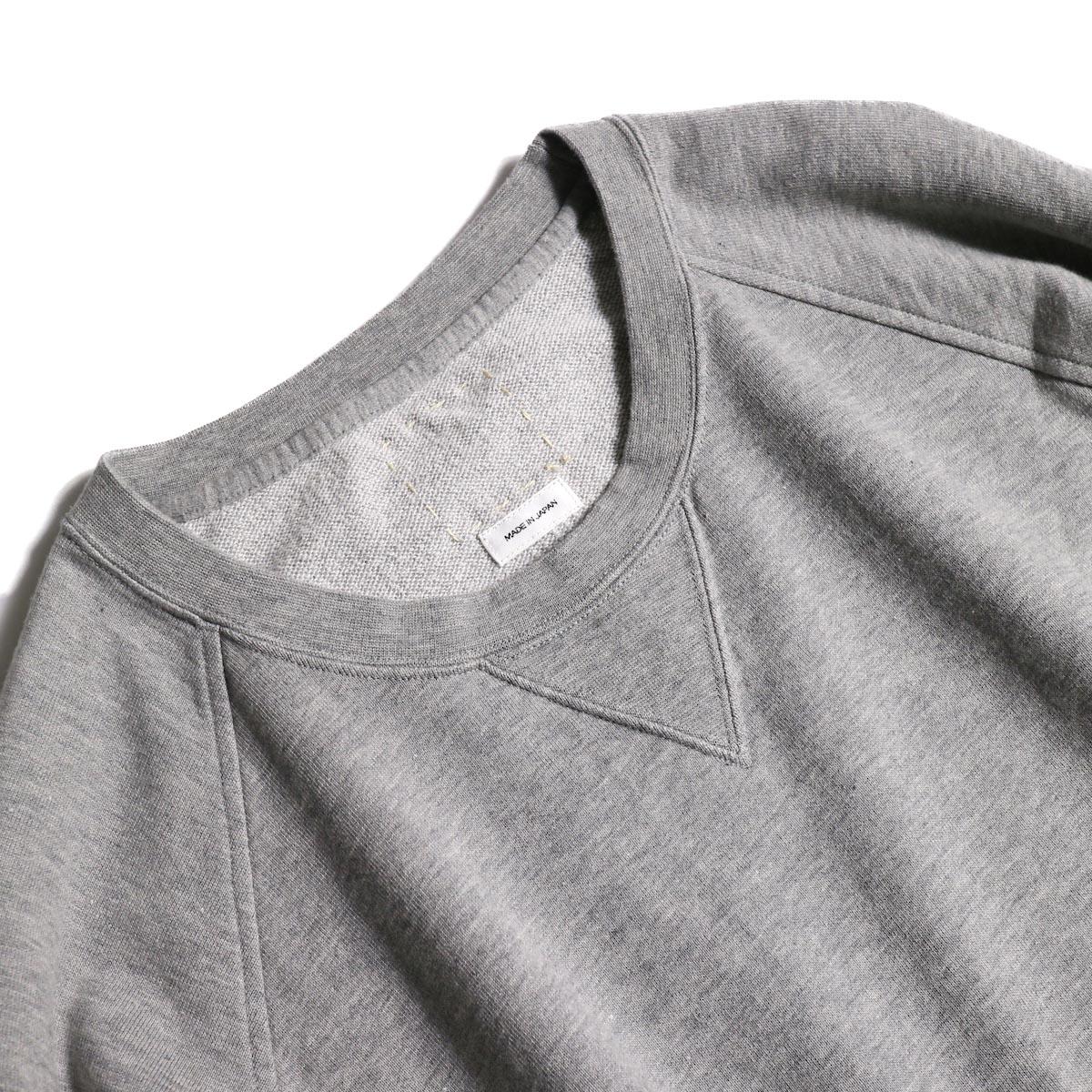 visvim / JV CREW L/S (Gray) ガセット