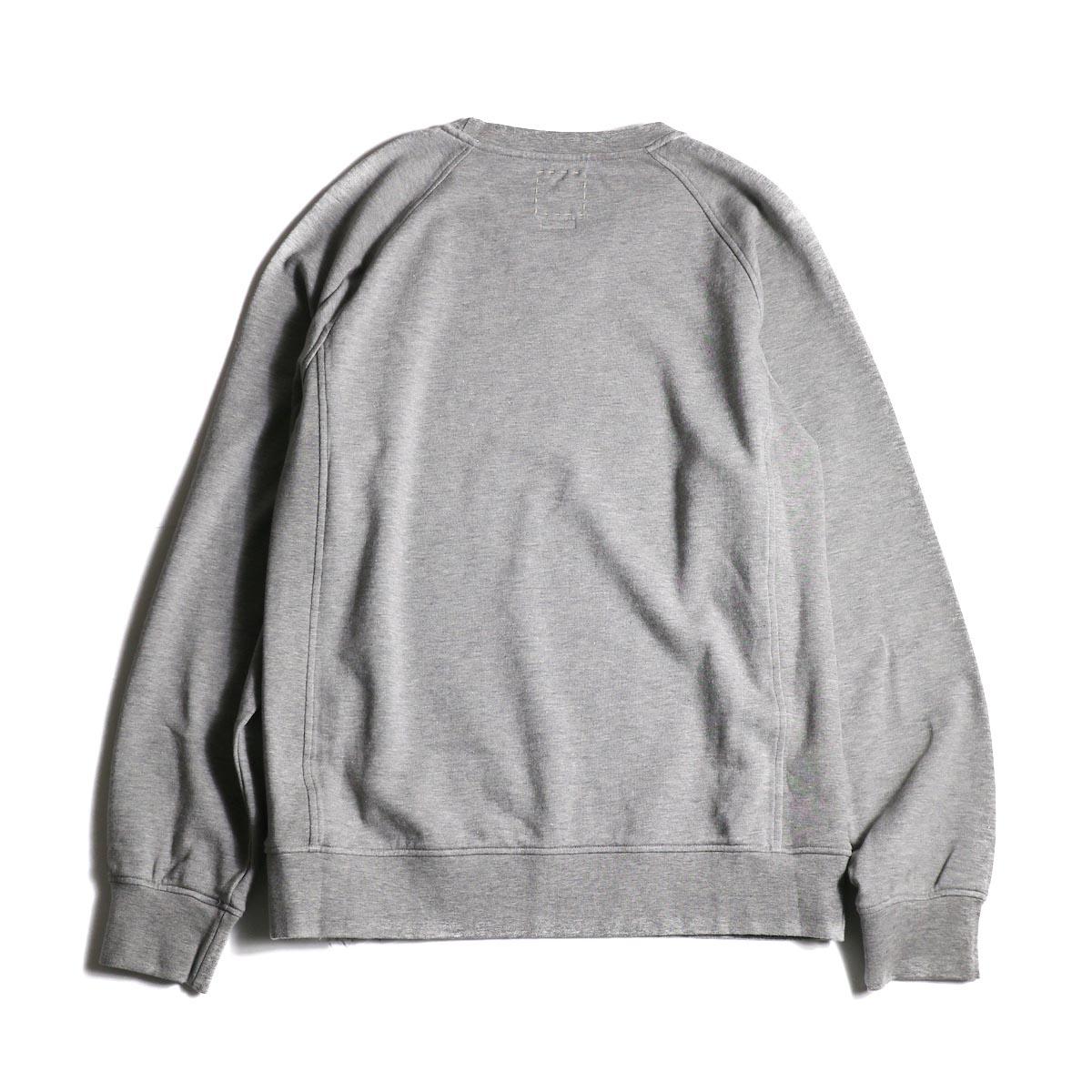 visvim / JV CREW L/S (Gray) 背面