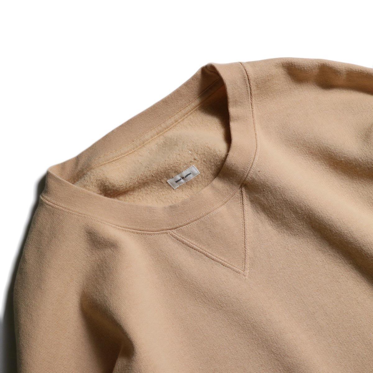 visvim / JUMBO SWEAT L/S (NUMBERING) (Pink)襟