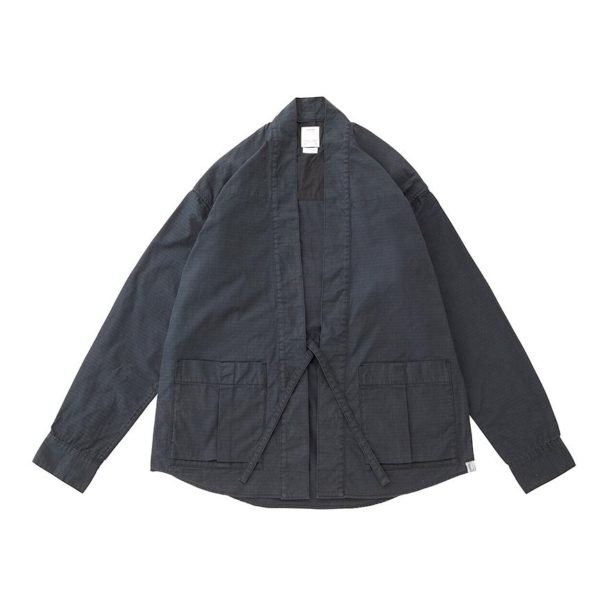 visvim / LHAMO SHIRT MIL (Black)正面