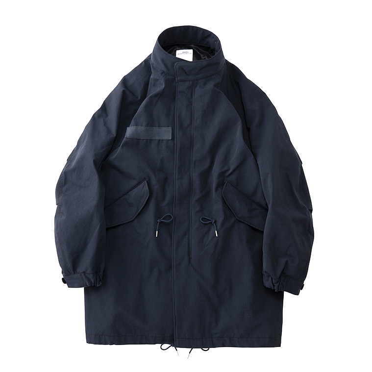 visvim / SIX-FIVE FISHTAIL PARKA (W/L) (Navy)