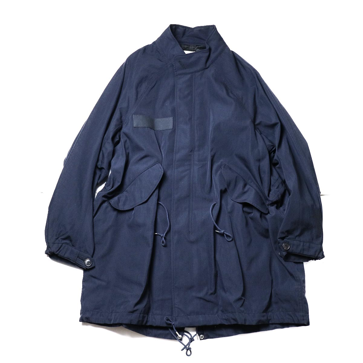 visvim / SIX-FIVE FISHTAIL PARKA (W/L) (Navy)正面