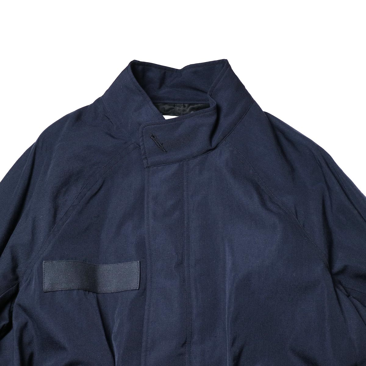visvim / SIX-FIVE FISHTAIL PARKA (W/L) (Navy)スタンドカラー