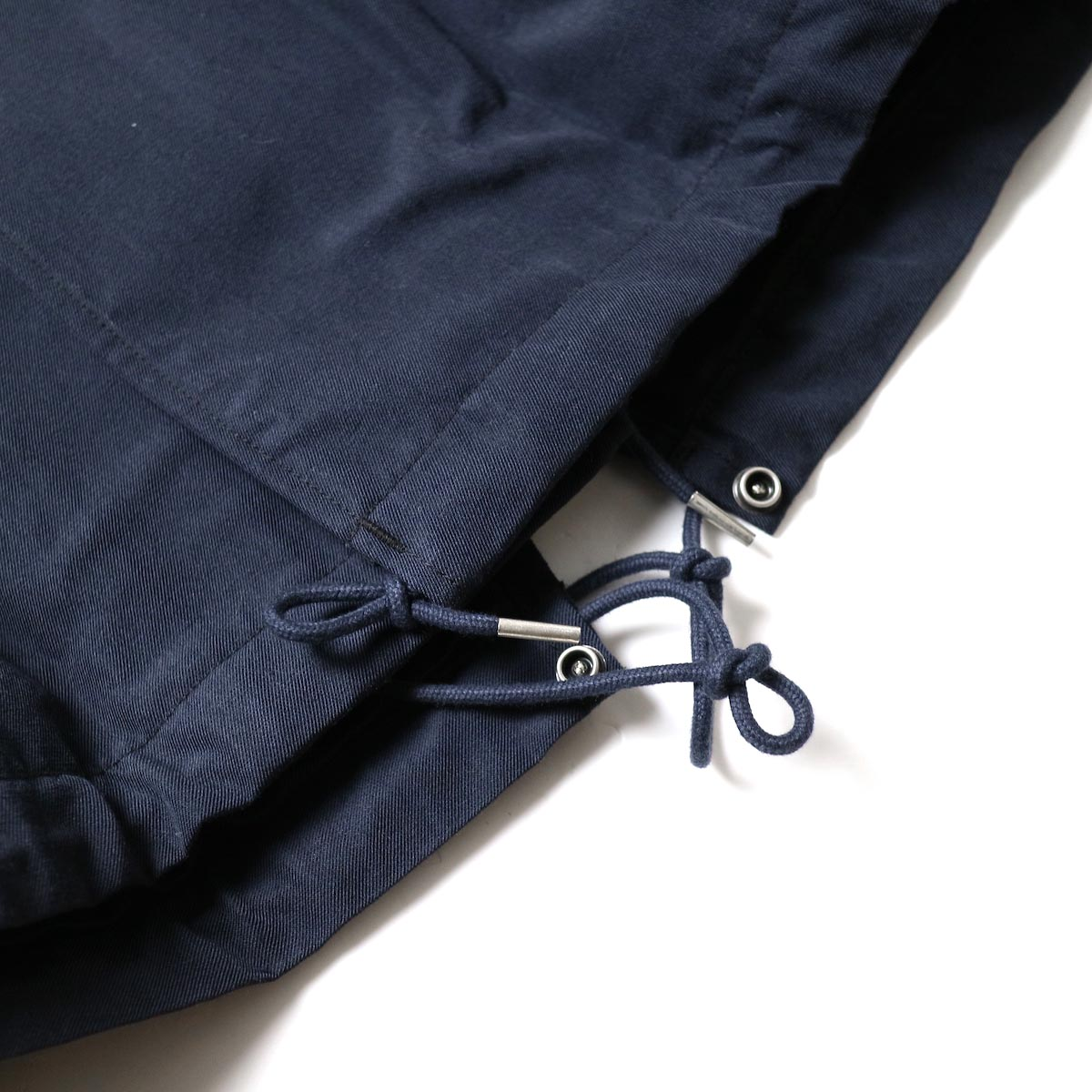 visvim / SIX-FIVE FISHTAIL PARKA (W/L) (Navy)裾