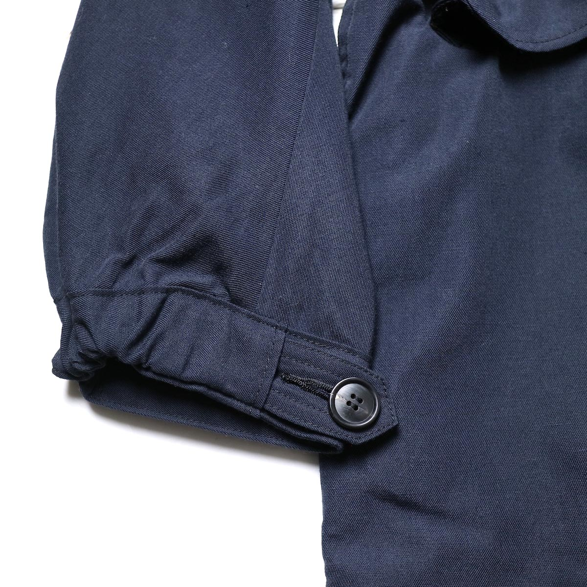 visvim / SIX-FIVE FISHTAIL PARKA (W/L) (Navy)袖