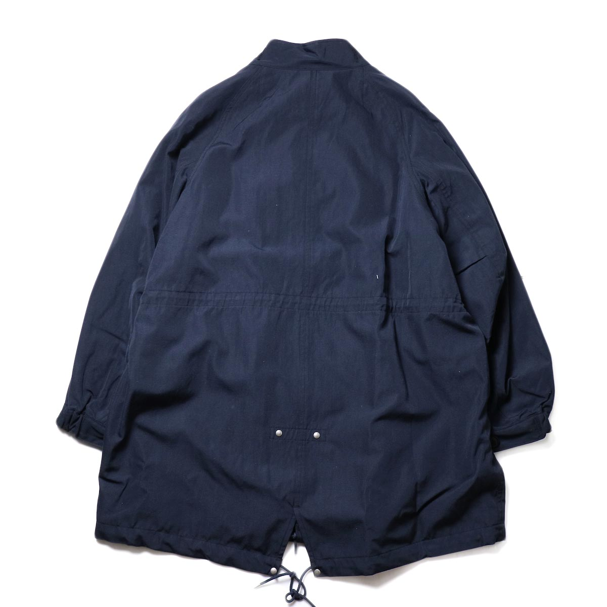 visvim / SIX-FIVE FISHTAIL PARKA (W/L) (Navy)背面