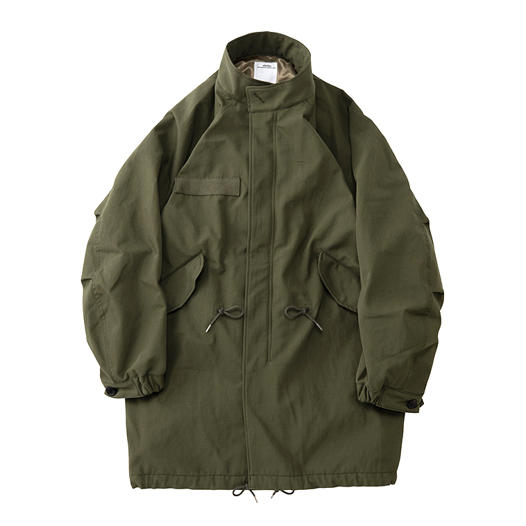 visvim / SIX-FIVE FISHTAIL PARKA (W/L) (Olive)