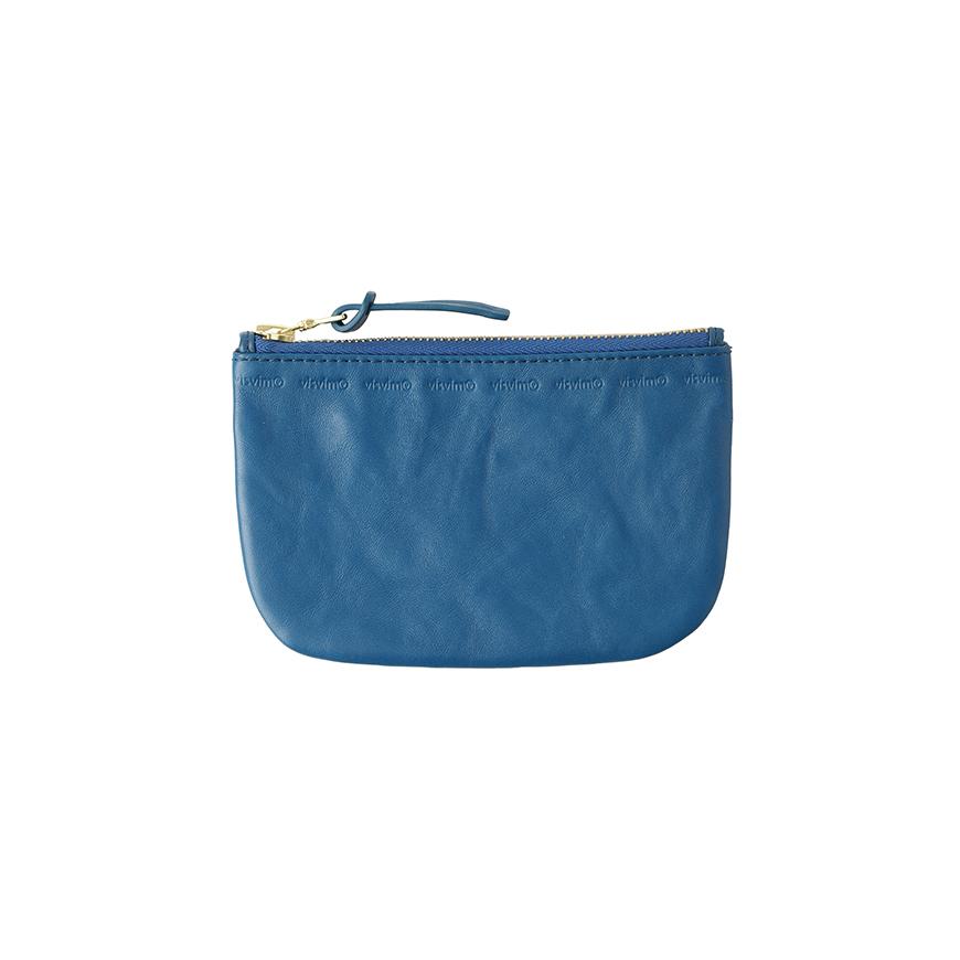 visvim / LEATHER WALLET (L) (Blue)