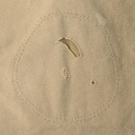 visvim / TRAVAILLER BRACES PANTS DMGD (Beige)加工②
