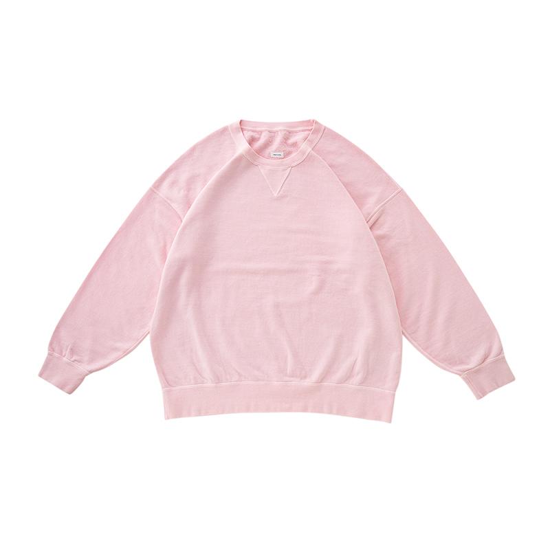 visvim / JUMBO SWEAT L/S (VEGGIE DYE) (Pink)