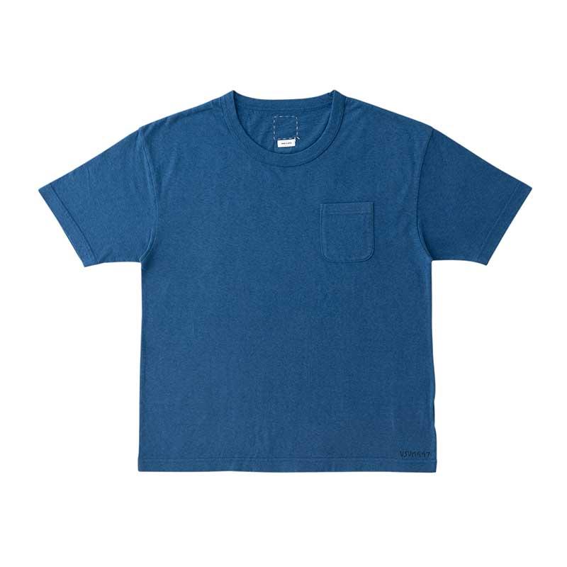 visvim / JUMBO TEE S/S (NUMBERING) (Blue)