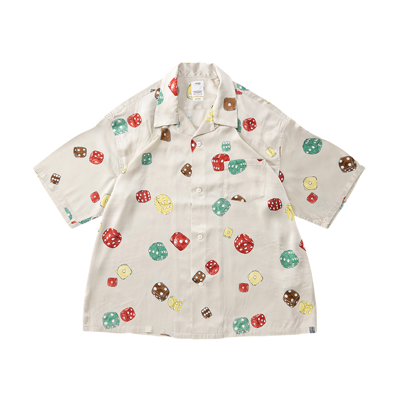 visvim / WALLIS SHIRT S/S DICE (White)