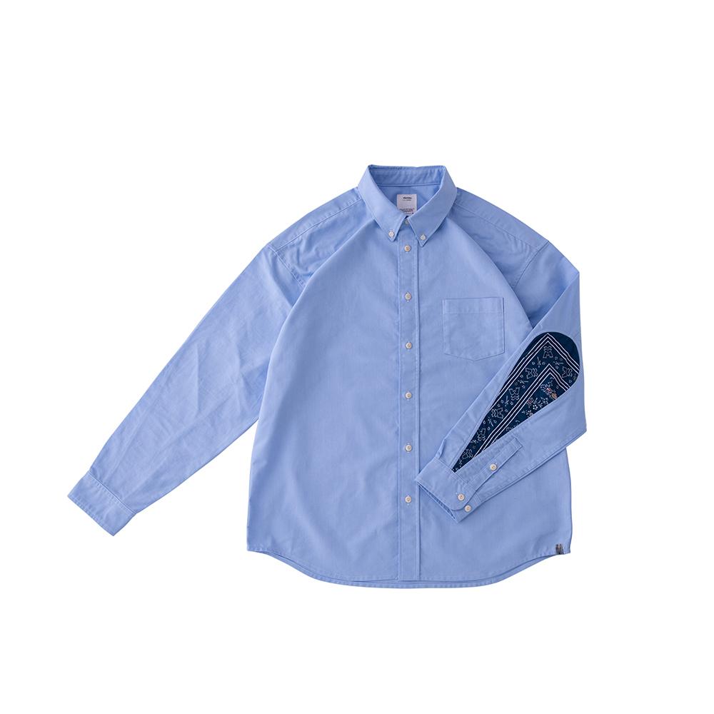 visvim / ALBACORE GARUDA SHIRT L/S (Blue)