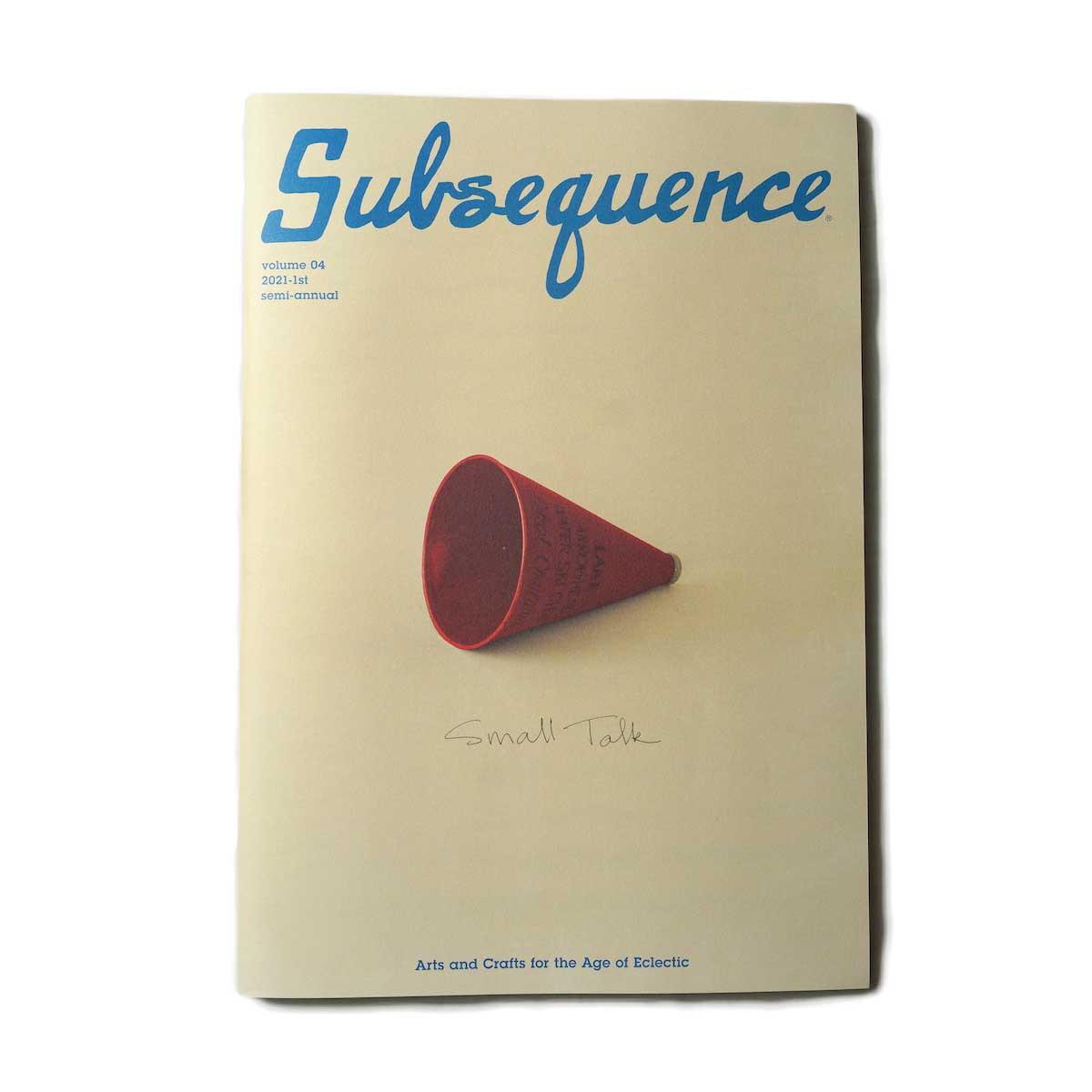 visvim / Subsequence Magazine Vol.4
