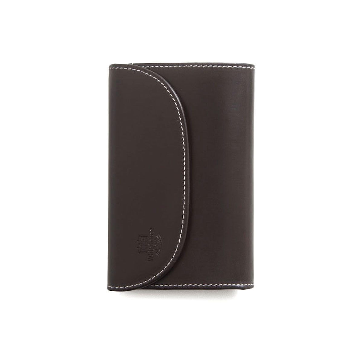 WHITEHOUSE COX / S7660 3FOLD WALLET (Espresso×Yellow)
