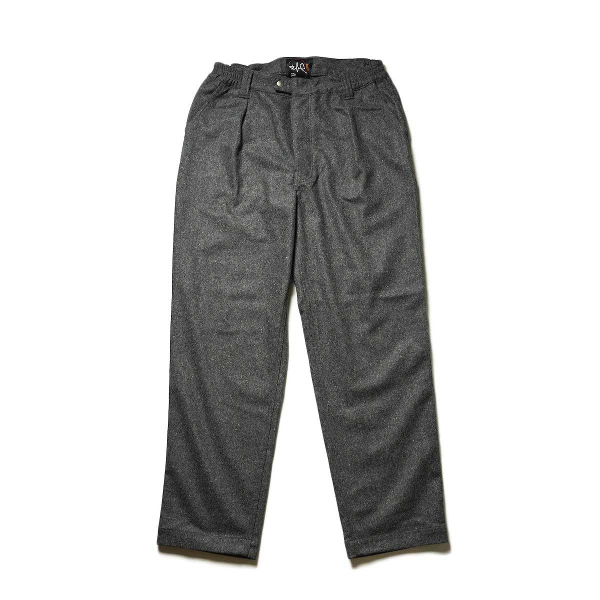 Willow Pants / P-008 - NEP WOOL PANTS (Gray)
