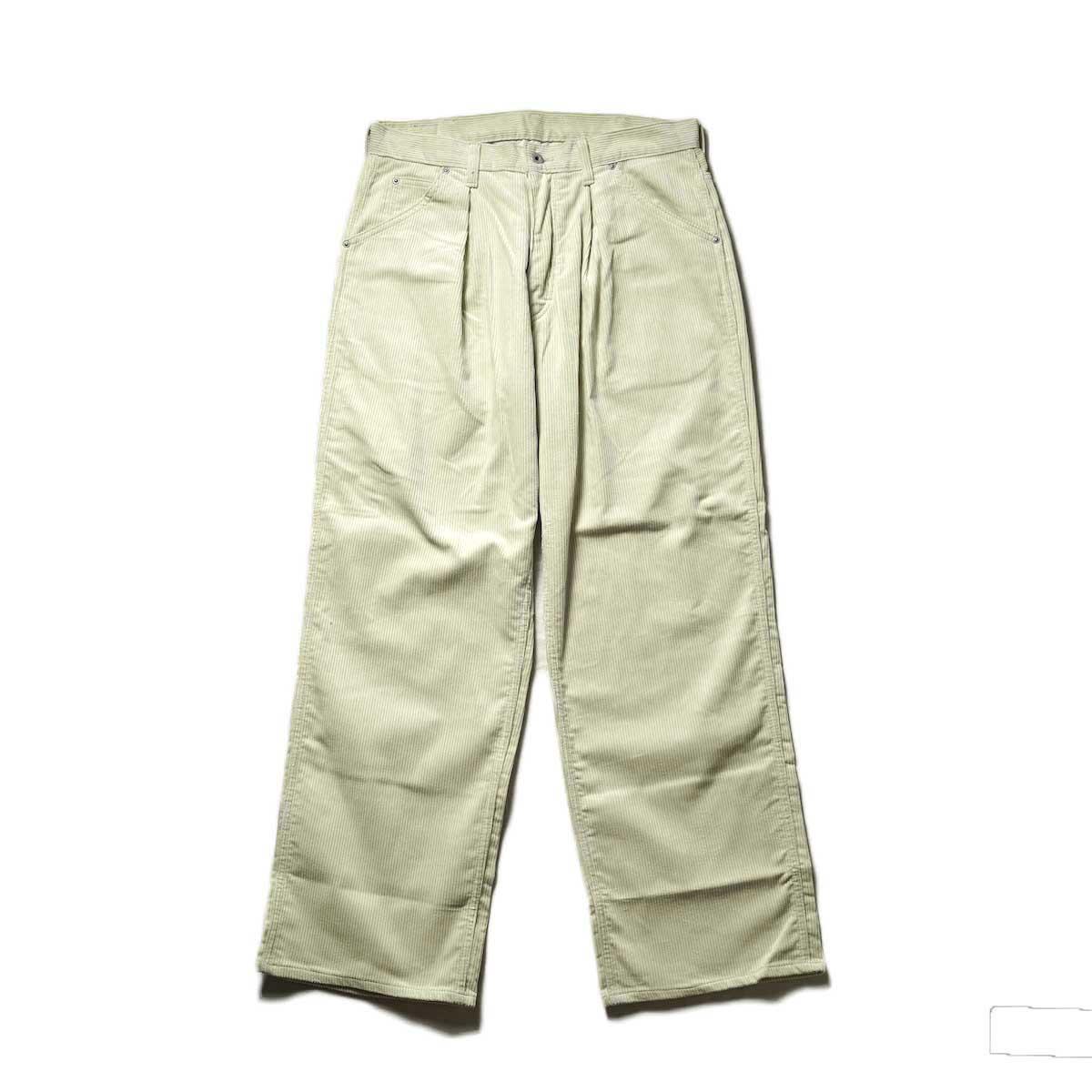 Willow Pants / P-010 - CORDUROY PANTS (Ivory)