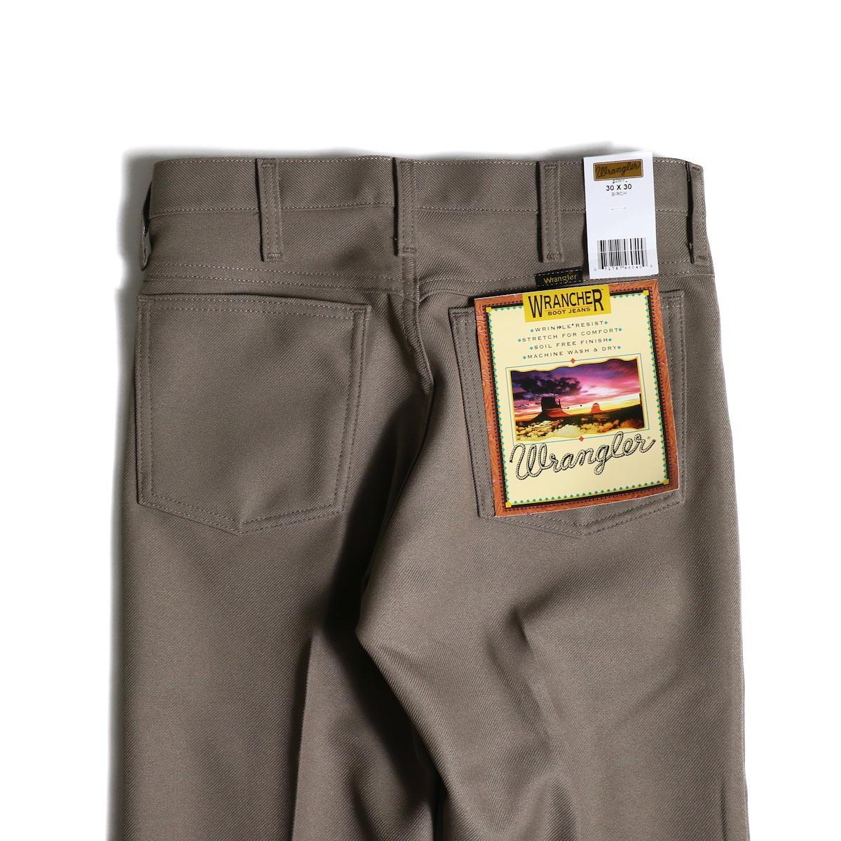 Wrangler / WRANCHER DRESS JEANS (Birch)ヒップポケット