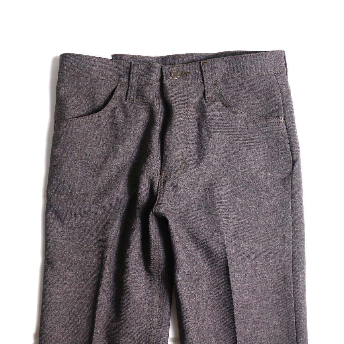 Wrangler / WRANCHER DRESS JEANS (H.Darkchoco)ウエスト