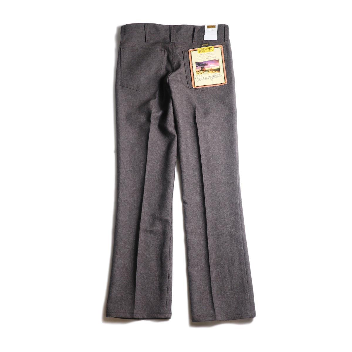 Wrangler / WRANCHER DRESS JEANS (H.Darkchoco)背面