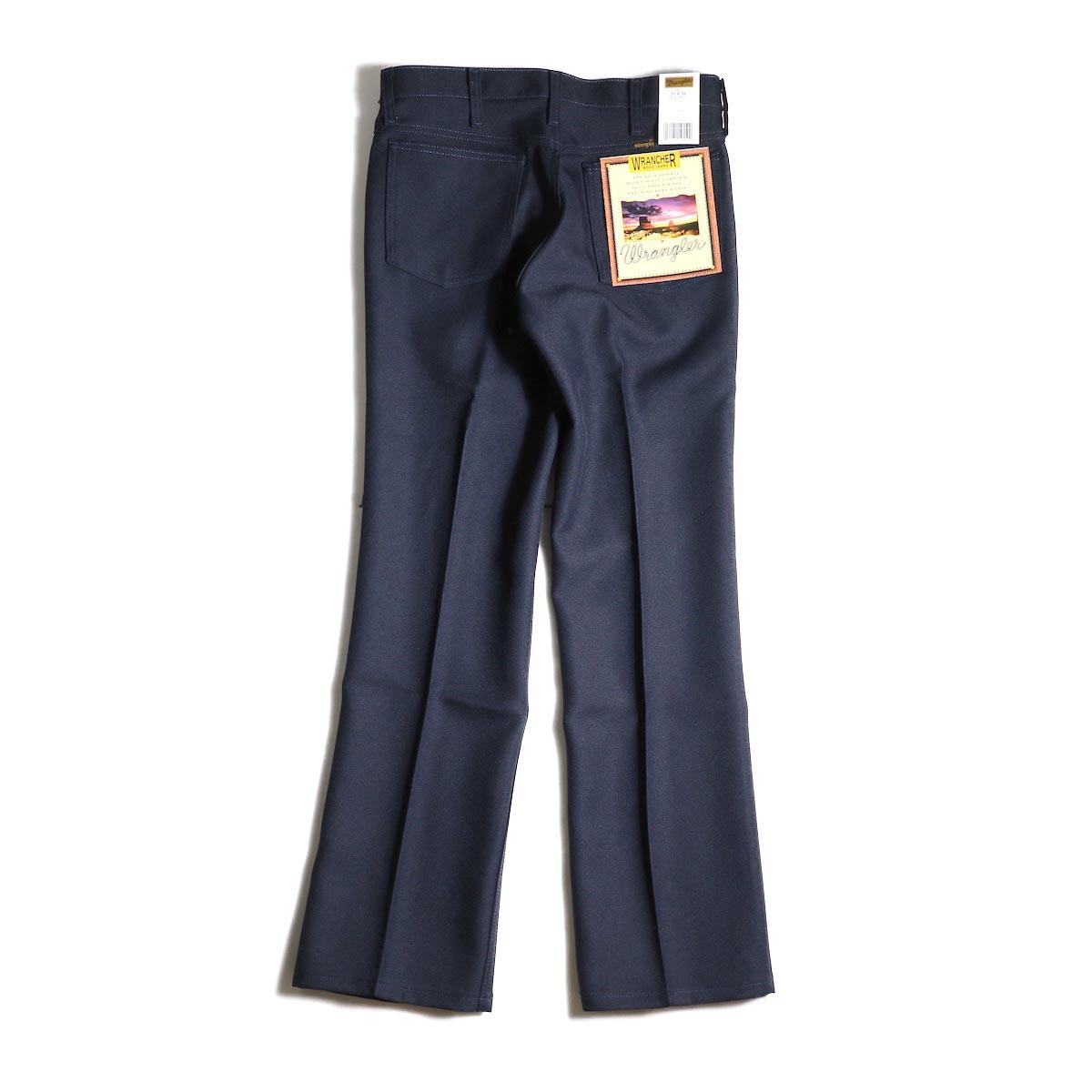 Wrangler / WRANCHER DRESS JEANS (Navy)背面