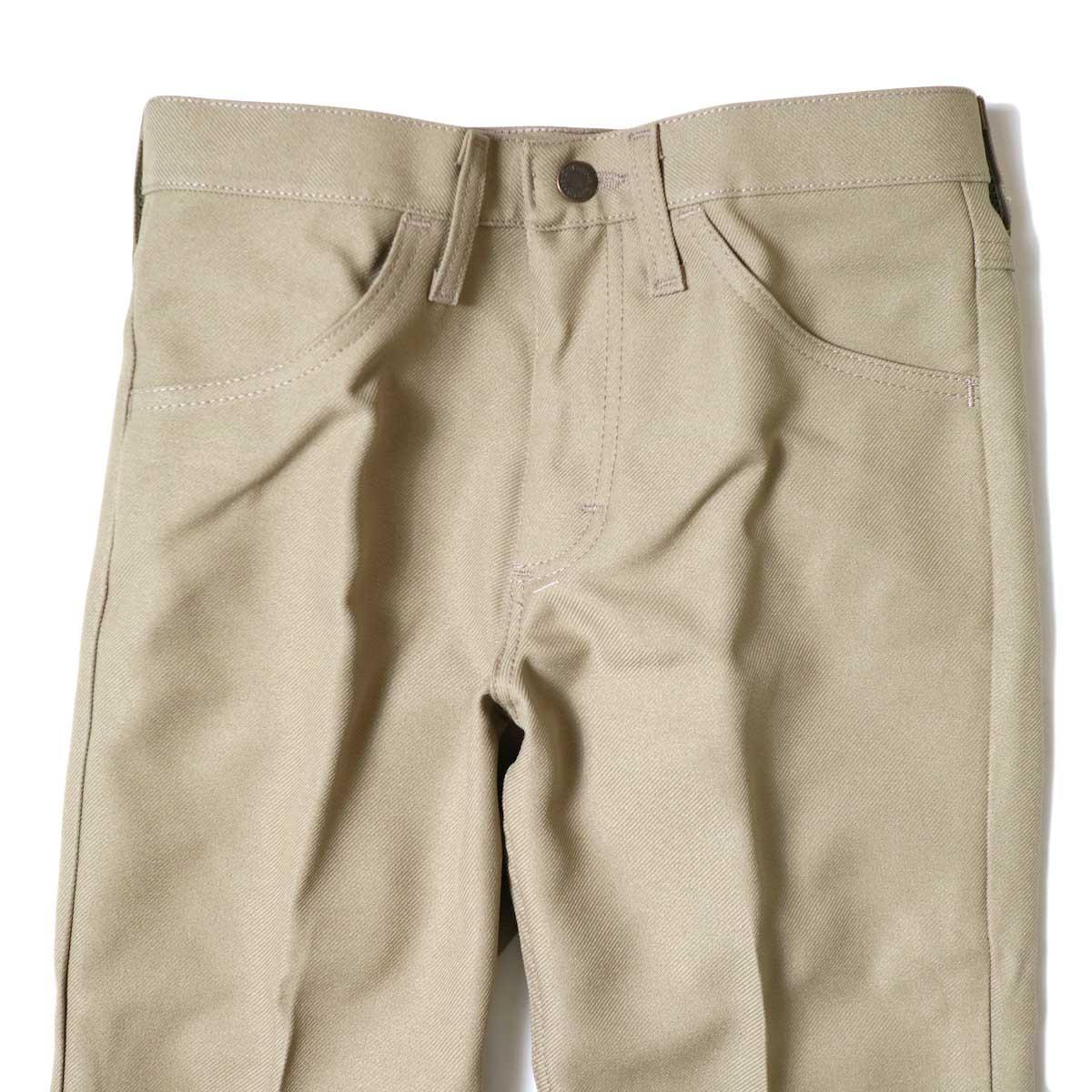 Wrangler / WRANCHER DRESS JEANS (Tan) ウエスト